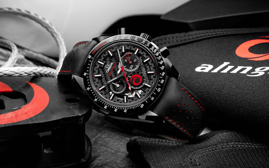 AAA New Omega Speedmaster Dark Side of the Moon Alinghi Edition Replica Watch