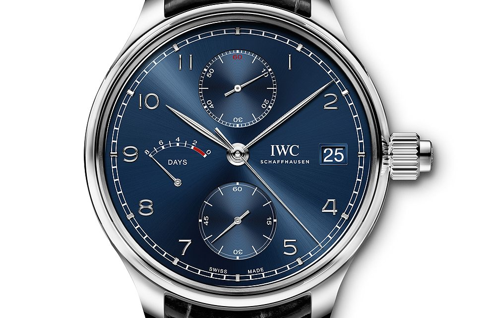"Perfect IWC Released Portugieser Hand-Wound Monopusher ""Laureus Sport for Good"" Replica Watch"