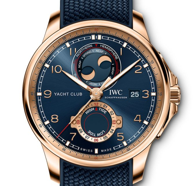 AAA IWC Portugieser Yacht Club Moon & Tide Edition Replica Watches
